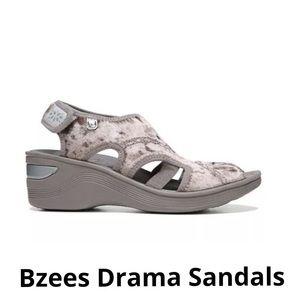 Bzees Drama Women's Sandals Size 8.5